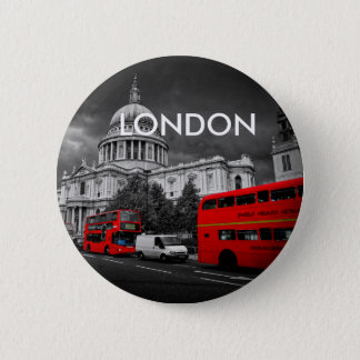 World Cities - London 2 Inch Round Button