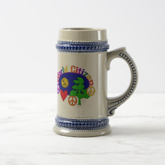 World Citizen 18 Oz Beer Stein