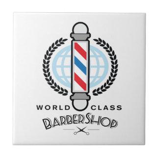 World Class Barber Shop Ceramic Tile
