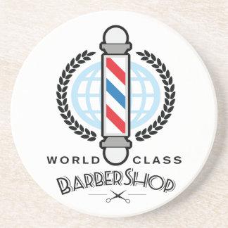 World Class Barber Shop Coaster