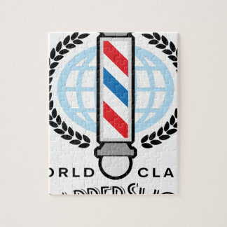 World Class Barber Shop Jigsaw Puzzle