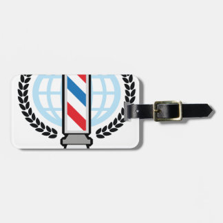 World Class Barber Shop Luggage Tag