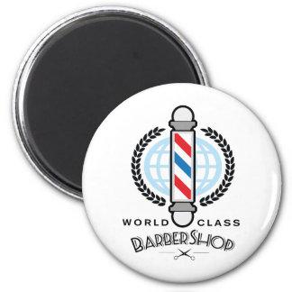 World Class Barber Shop Magnet