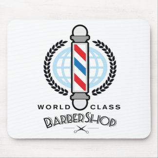 World Class Barber Shop Mouse Pad