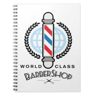 World Class Barber Shop Notebook