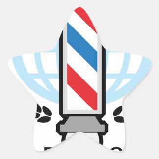World Class Barber Shop Star Sticker