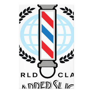 World Class Barber Shop Stationery