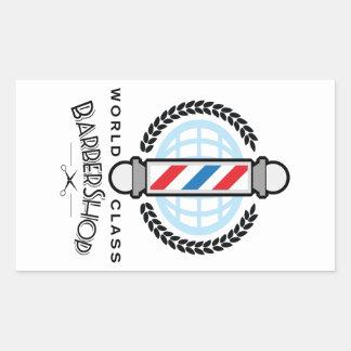 World Class Barber Shop Sticker
