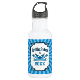 World Class Graduate Class of 2018 Graduation 532 Ml Water Bottle