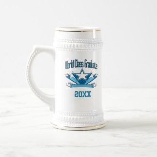 World Class Graduate Class of 2018 Graduation Beer Stein