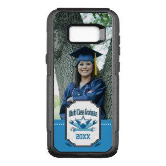 World Class Graduate Class of 2018 Graduation OtterBox Commuter Samsung Galaxy S8+ Case
