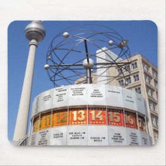 World Clock and Television Tower, Alexanderplatz, Mouse Pad