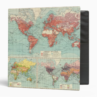World commerce Map Binders