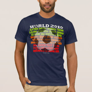 World Cup All Country Dark T-Shirt Colors