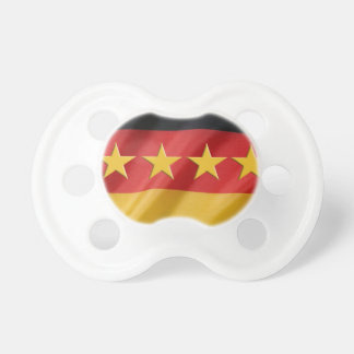 world-cup- Flag Baby Pacifiers