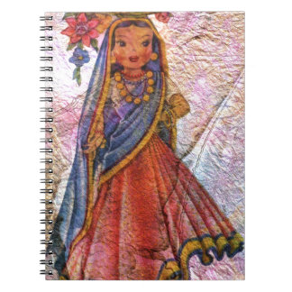 WORLD DOLL INDIA NOTEBOOK