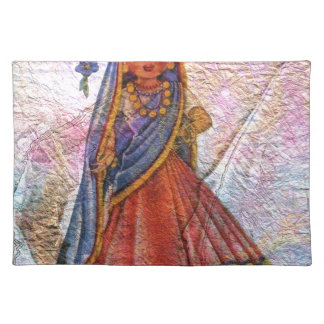 WORLD DOLL INDIA PLACEMAT