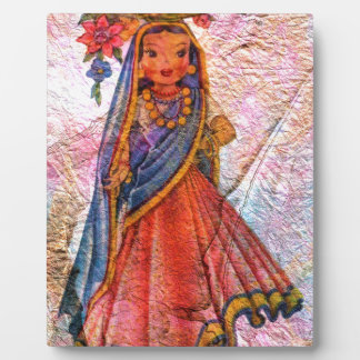 WORLD DOLL INDIA PLAQUE