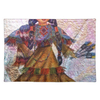 WORLD DOLL NATIVE AMERICAN PLACEMAT