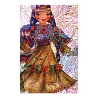 WORLD DOLL NATIVE AMERICAN STATIONERY
