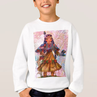 WORLD DOLL NATIVE AMERICAN SWEATSHIRT