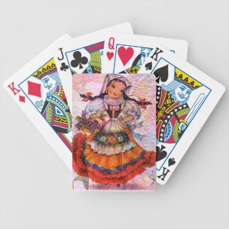 WORLD DOLL SPAIN 2 BICYCLE PLAYING CARDS