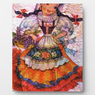 WORLD DOLL SPAIN 2 PLAQUE