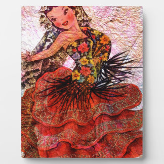 WORLD DOLL SPAIN PLAQUE