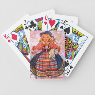 WORLD DOLL SWEEDISH BICYCLE PLAYING CARDS