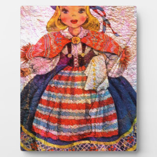 WORLD DOLL SWEEDISH PLAQUE