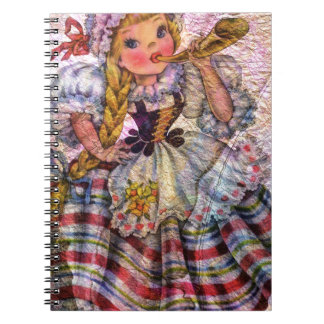 WORLD DOLL SWISS NOTEBOOK