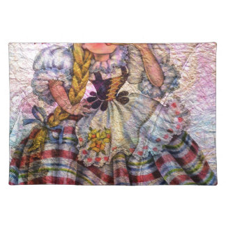 WORLD DOLL SWISS PLACEMAT