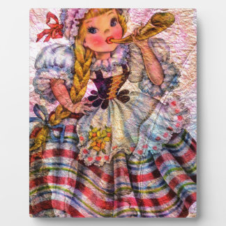 WORLD DOLL SWISS PLAQUE