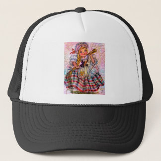 WORLD DOLL SWISS TRUCKER HAT