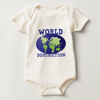 World Domination Baby Creeper