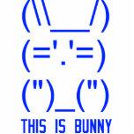 World Domination Bunny Photo Sculpture Ornament