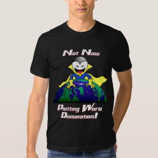 World Domination - dark Tees