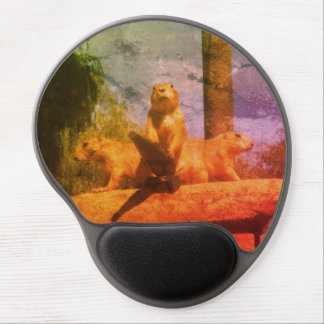 World Domination Gel Mouse Pad