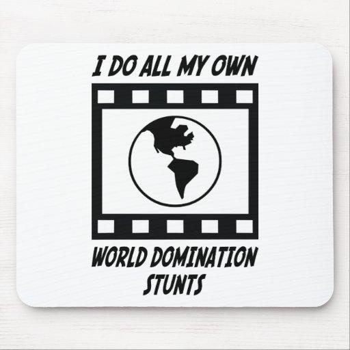 World Domination Stunts Mouse Pad