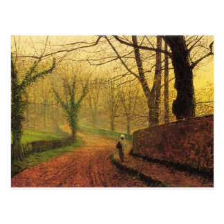 World Famous Painting Brilliant Autumn Colors Postcard