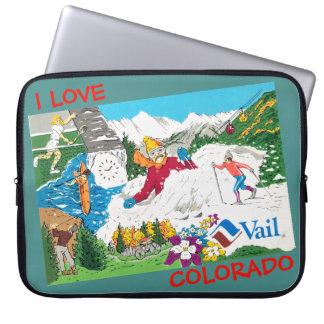 World Famous Vail Colorado Laptop Sleeve
