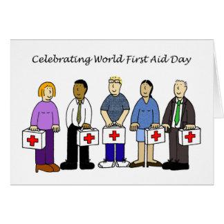 World First Aid Da Card