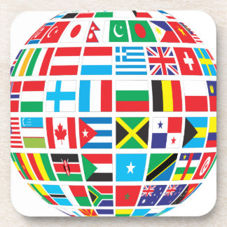World Flags Globe Coaster