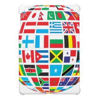 World Flags Globe Cover For The iPad Mini