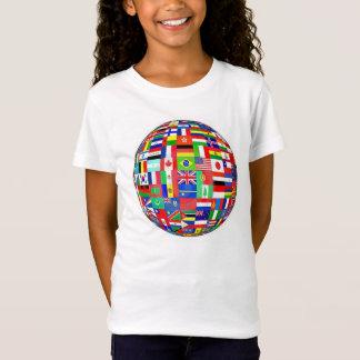 WORLD FLAGS SOCCER BALL T-Shirt