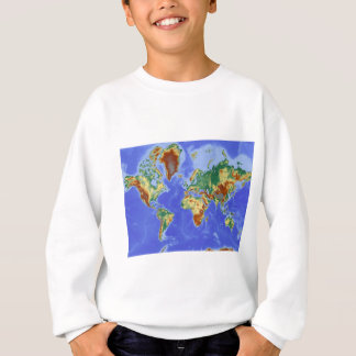 World Geographic International Map Sweatshirt