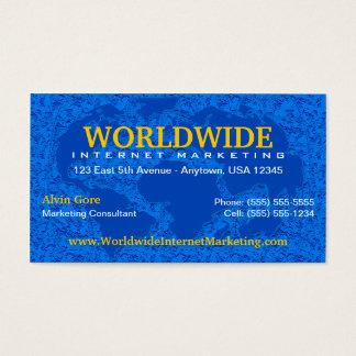 World / Global Business Card