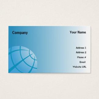 World Globe-Business Business Card