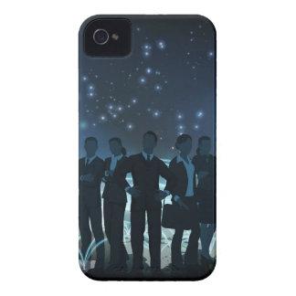 World Globe Logistics Business Team Concept iPhone 4 Case-Mate Case