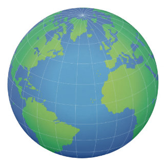 World Globe Map Eraser